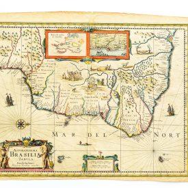 Mapa do Brasil - Accuratissima Brasilia Tabula